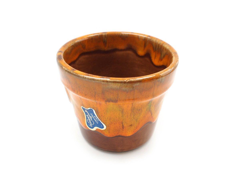 Pottery Drip Glaze Flower Pot