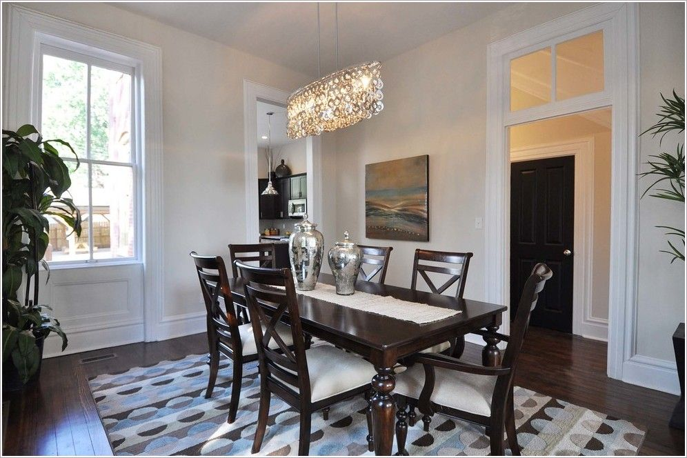 Dining Room Traditional St Louis Baseboard Chandelier Dangling