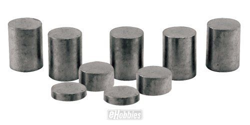 Pinecar Tungsten Incremental Cylinder Weights 3 oz. by Pinecar. $17.23. Tungsten is 1.7 times denser than lead and offers more control over precise weight distribution. Place more weight in a smaller, precise area. The incremental design allows car builders to bring racers to the maximum weight allowed in exact 1/16 ounce increments.. Save 18% Off!
