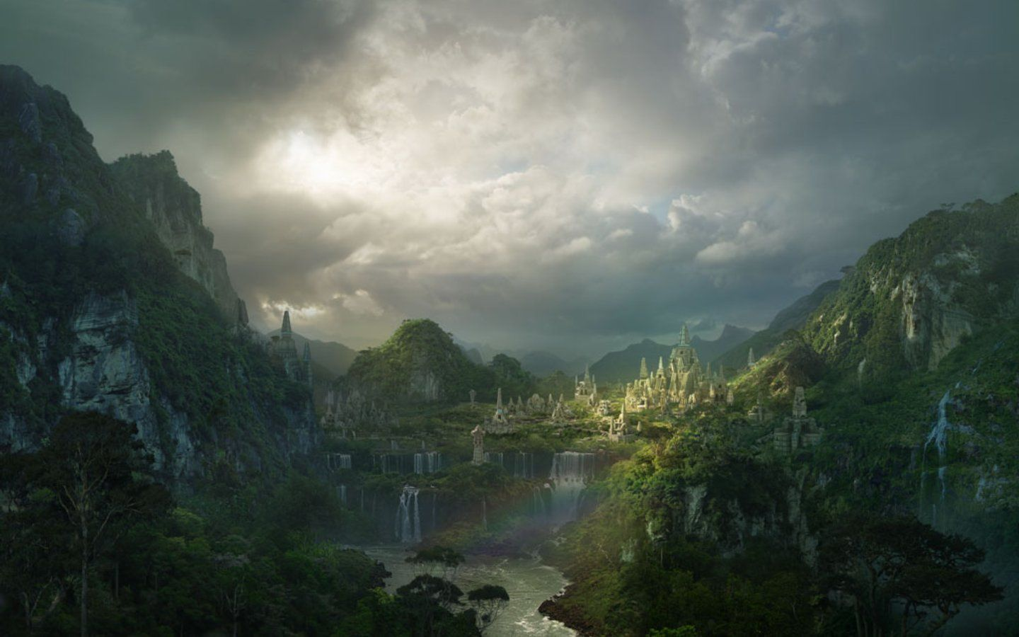 Magical Fantasy Hd Wallpapers That Will Take Your Breathe: Amazing Fantasy Valley