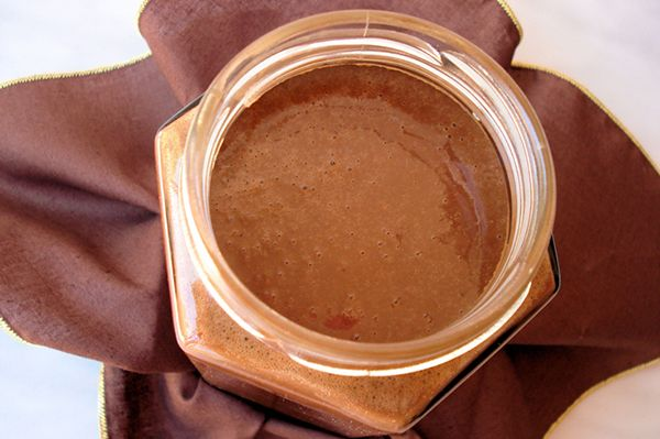 Raw Chocolate Honey Coconut Butter- delicious slathered on just about anything. #rawchocolate #coconutbutter