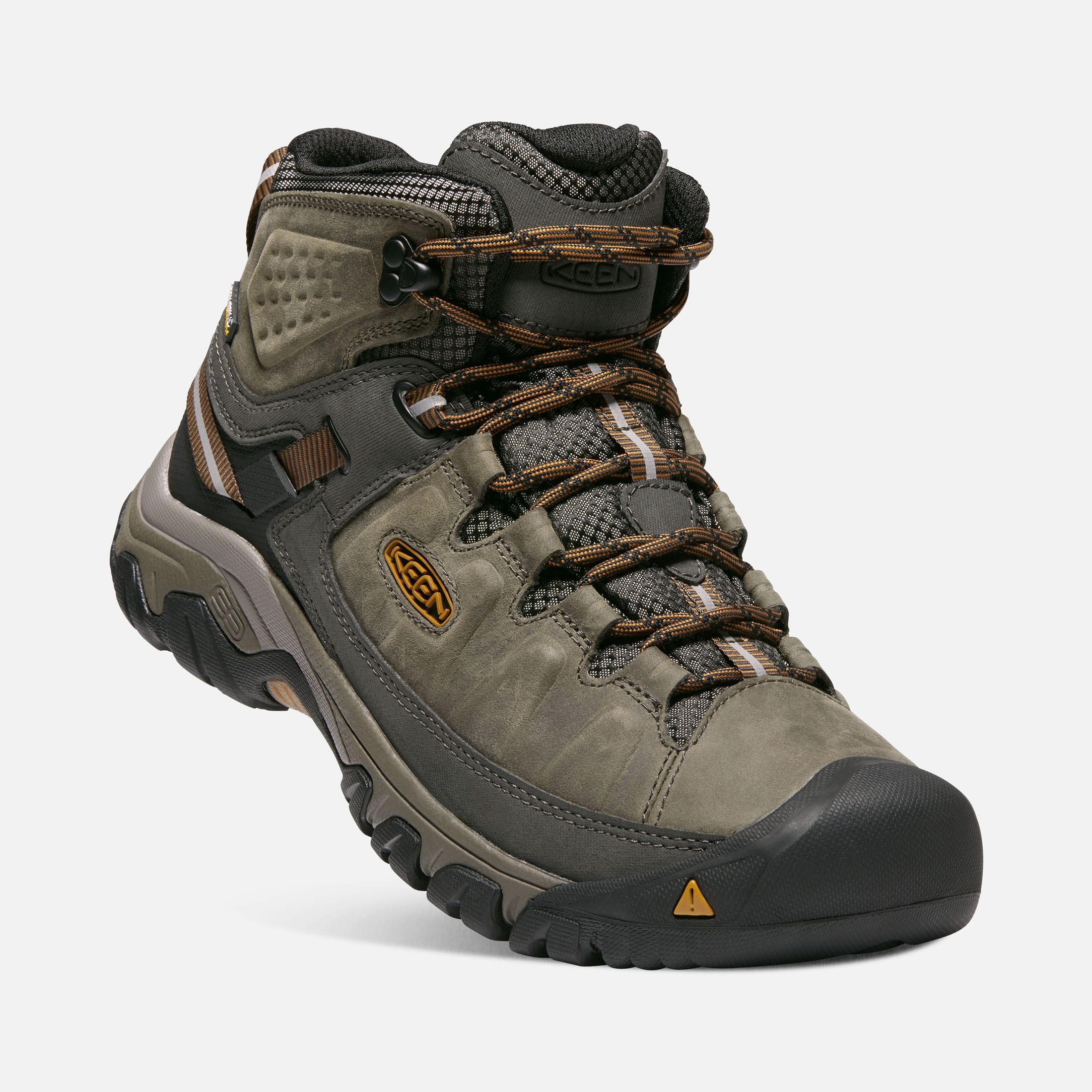 Keen Men S Waterproof Hiking Boots Targhee Iii Mid 8 5 Black