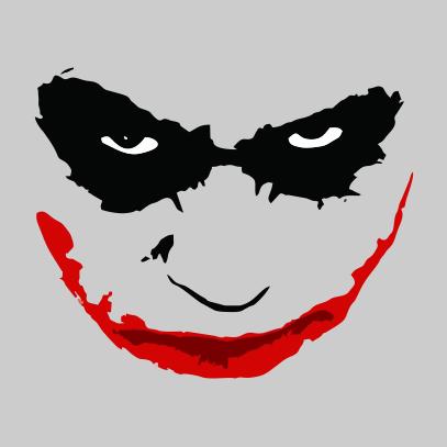 Joker Smile Grey Png 407 407 Joker Face Joker Smile Joker Art