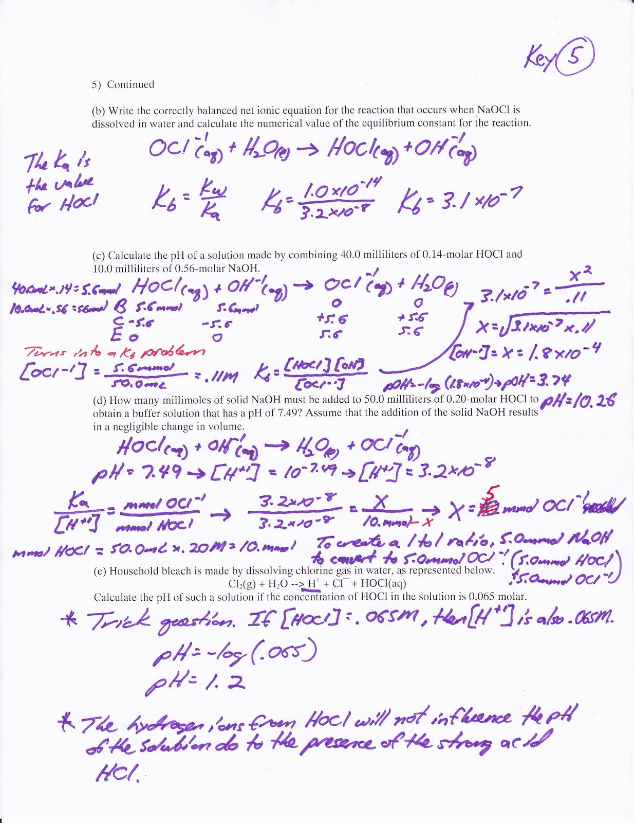 Introduction Acids Bases Pogil Answers – Acid Base Equilibrium Worksheet