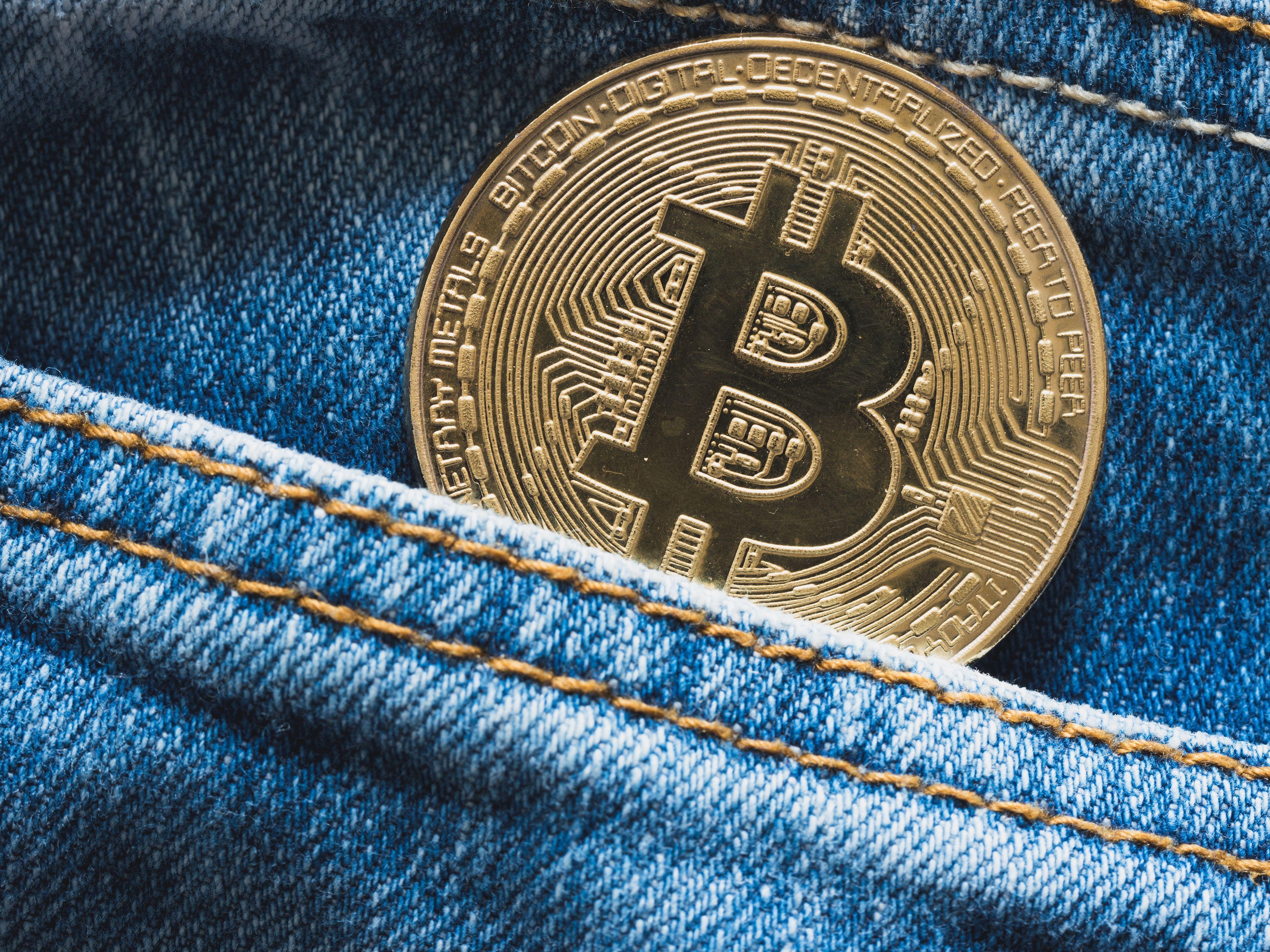 Five free bitcoin holders conception stock photos bitcoin