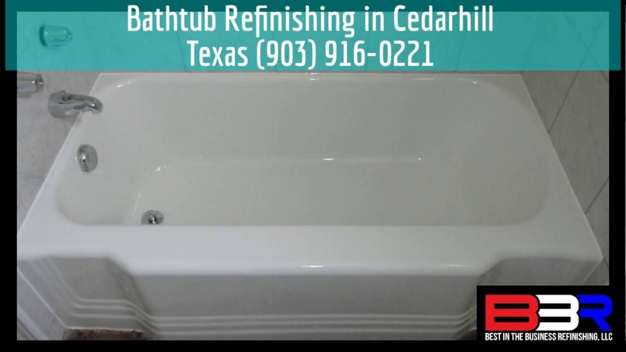 Bathtub Refinishing In Cedarhill Texas (903) 916 0221