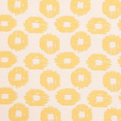 SD Stepper is a solution-dyed performance fabric from the Covington Outdoor Collection by Covington Fabric & Design. This indoor/outdoor fabric is woven from 100% polypropylene, it features a small-scale, ikat-inspired dot pattern in a striking color palette.