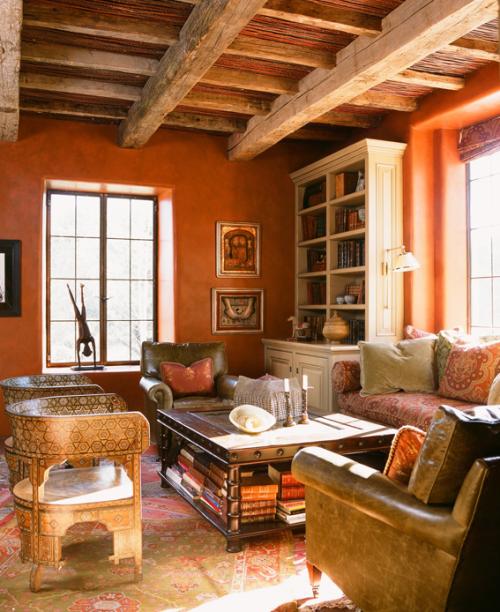 Glamorous Spanish Style Paint Colors Interior Ideas   Simple Design .