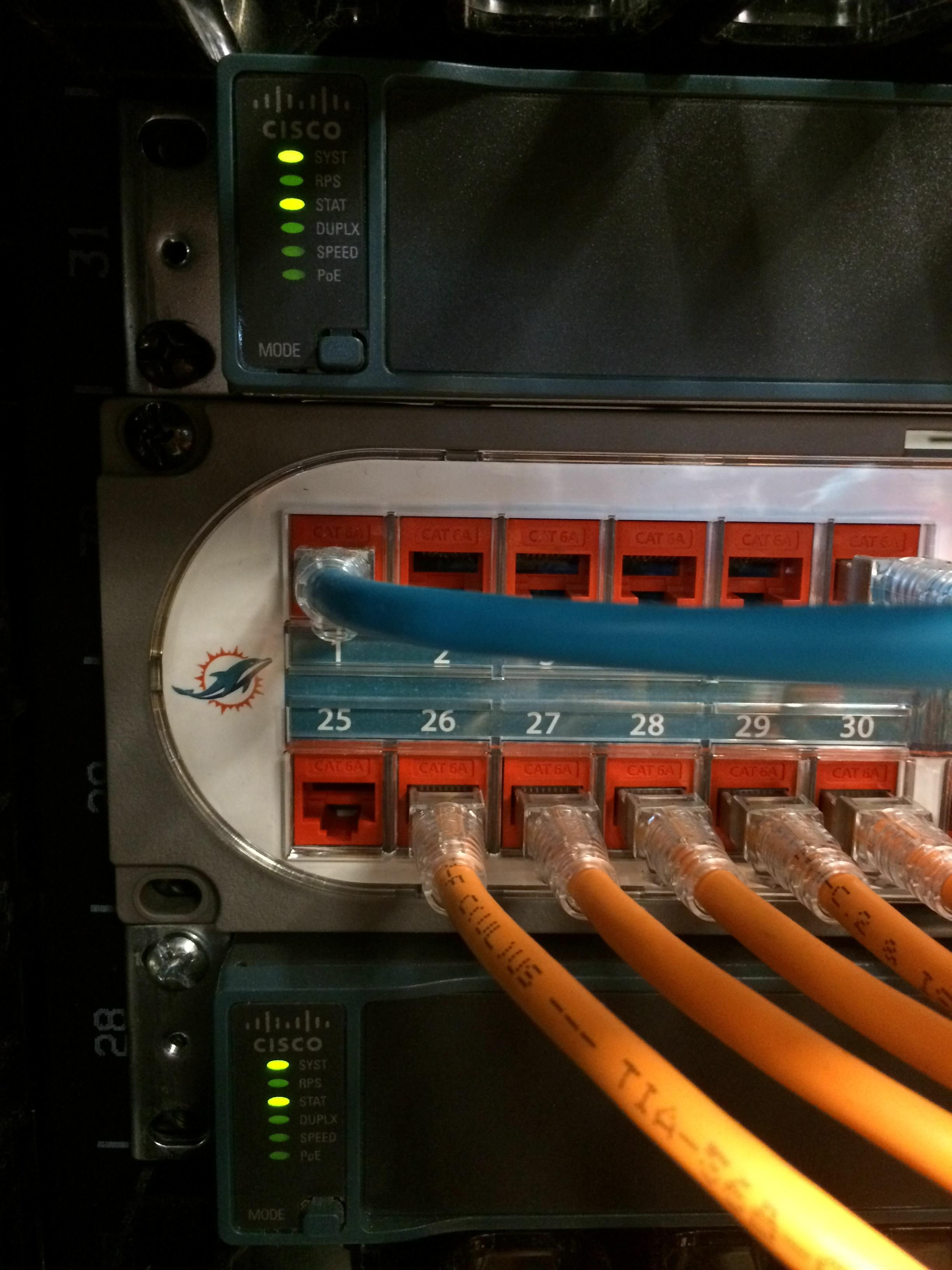 medium resolution of miami dolphins new data center cable imgur