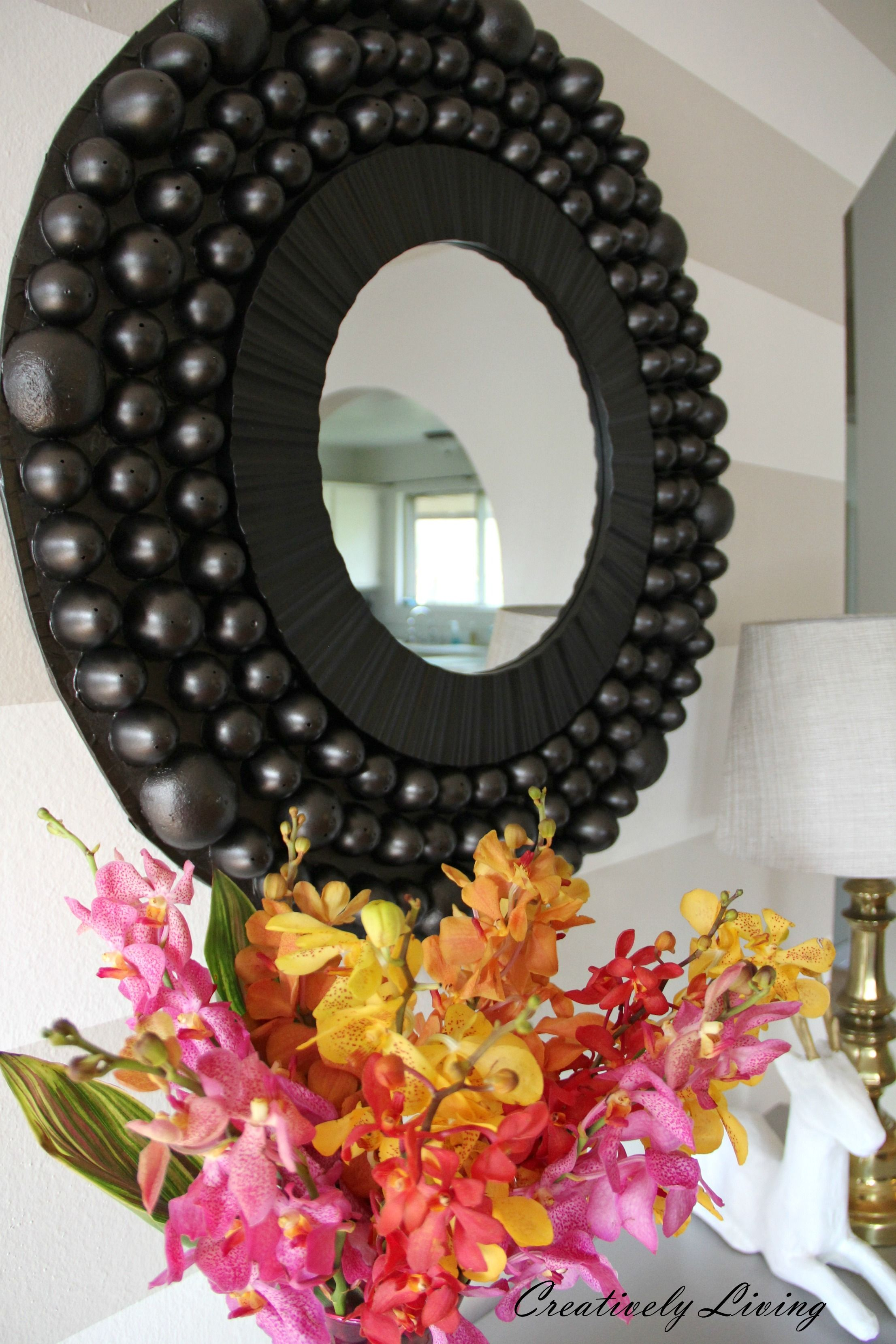 DIY Giant Awesome Bubble Mirror by