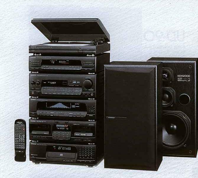 Digital Sound Processor Kenwood System 1991