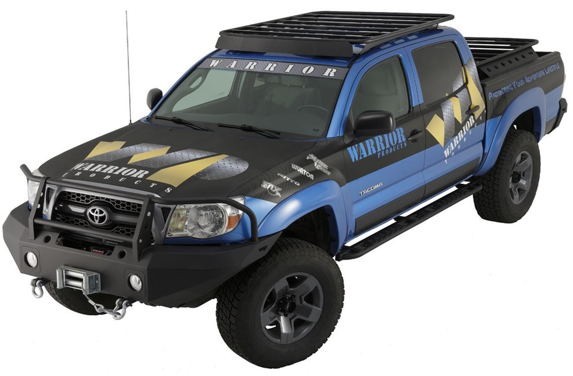 Warrior tacoma platform roof rack 05 16 4860 587 75 pure tacoma