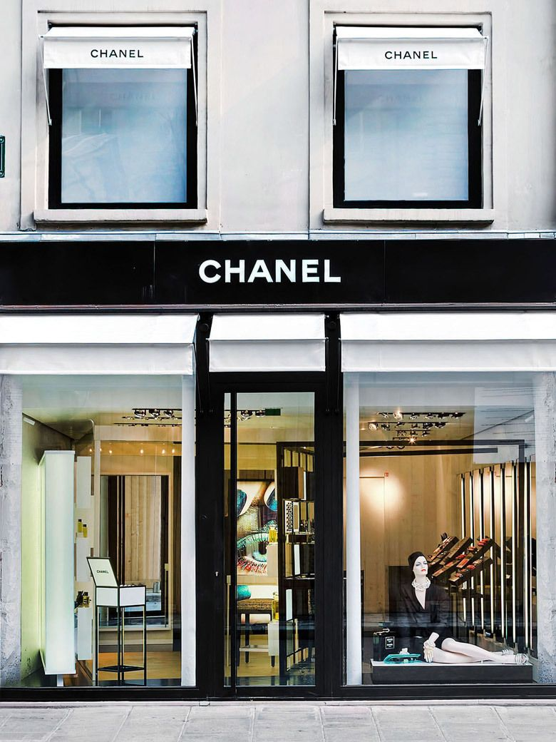 Pin by Jane Ho on Shops Chanel boutique, Store fronts
