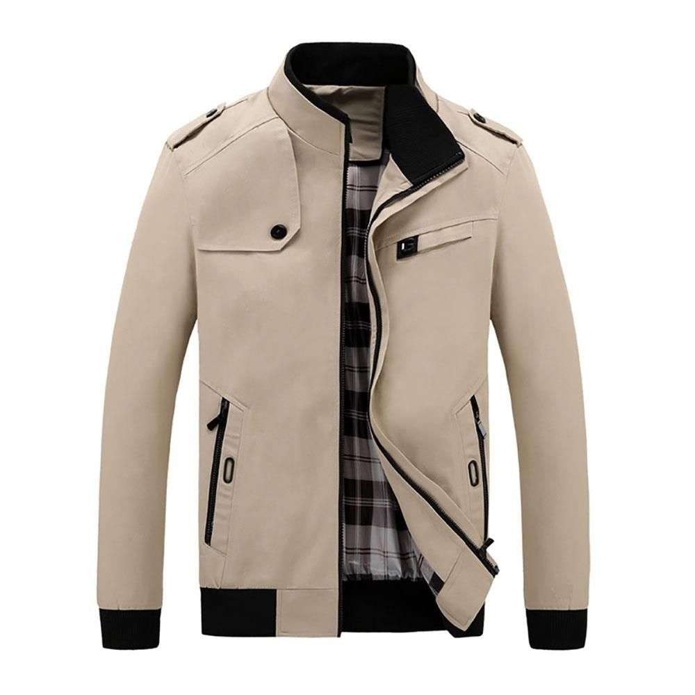 Men S Autumn Winter Classic Casual Jacket Mens Jackets Casual Casual Jacket Mens Winter Fashion