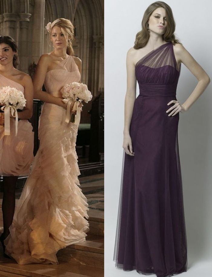 Take a cue from Blake Lively\'s dress on Gossip Girl | Bridesmaids ...