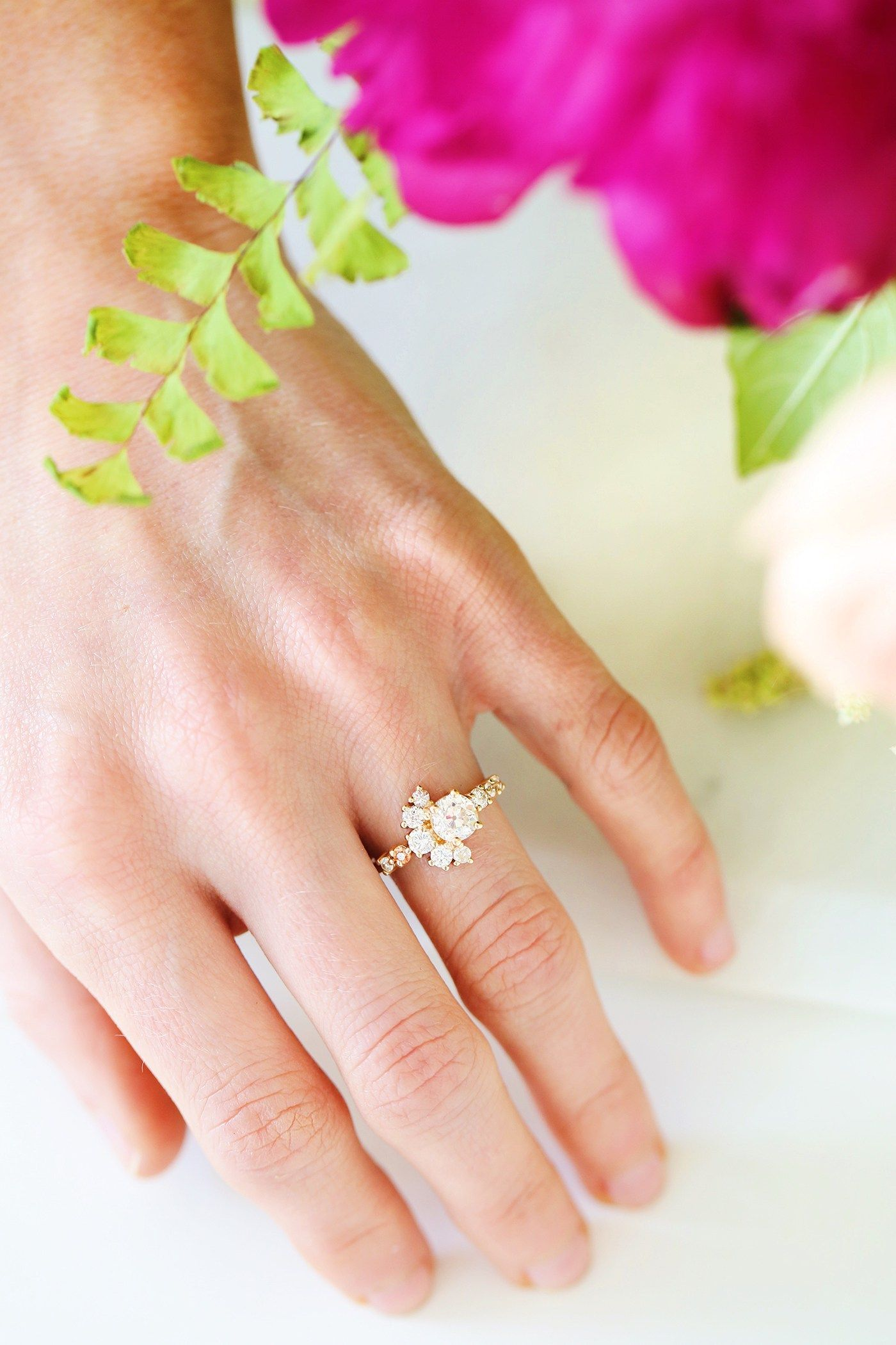 Weure engaged wedding proposals and beautiful rings
