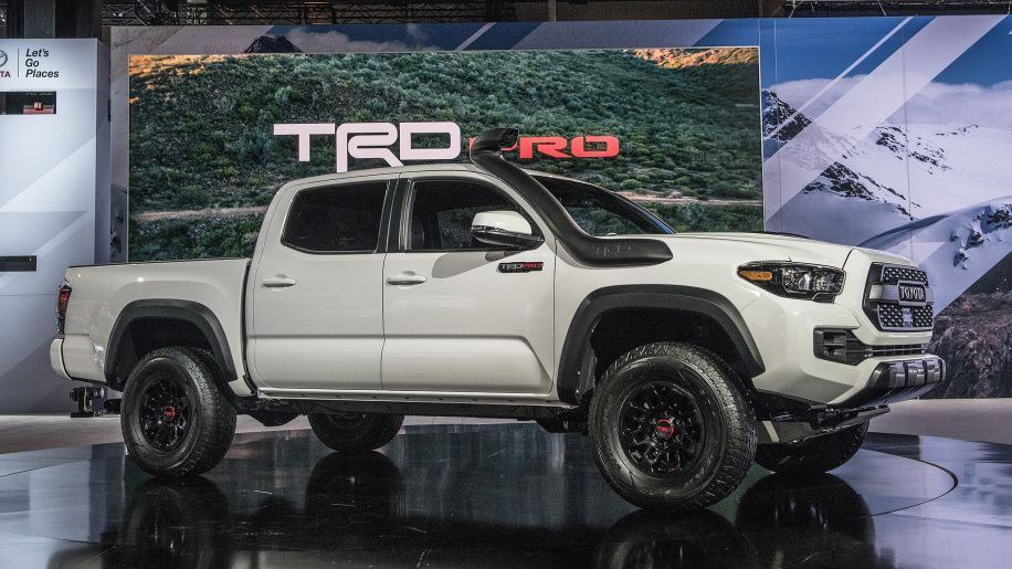 Toyota 2019 TRD Pro offroad trucks upgraded at Chicago