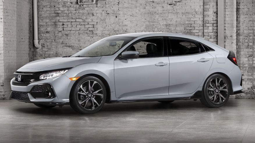 2017 Honda Civic Hatchback first look Honda civic