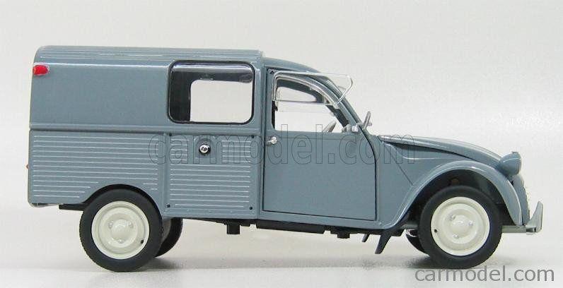 Solido 8182 Scale 1 18 Citroen 2cv Van Camionnette 1969 Grey 2cv Citroen 2cv Camionnette