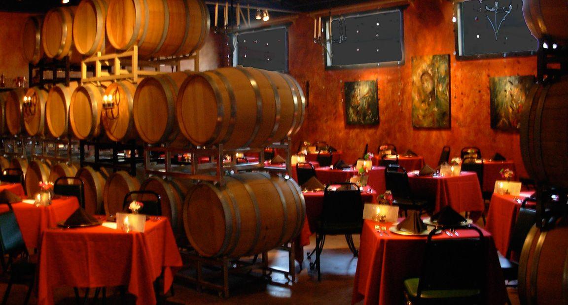 Lightcatcher Winery Fort Worth Texas New Barrel Room