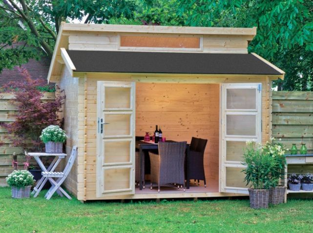 Une jolie cabane pour mon jardin - Elle Décoration | Pinterest ...