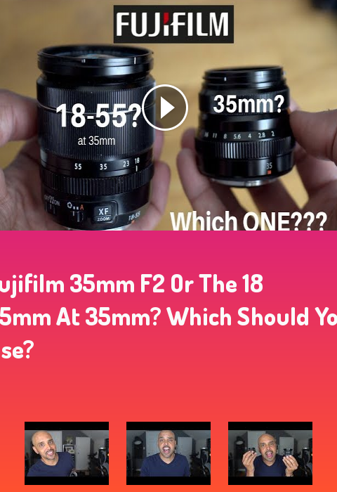 Fujifilm 35mm F2 Or The 18 55mm At 35mm Which Should You Use Photography Ph How To Improve Your Credit Score Improve Your Credit Score Fujifilm Xt30 Photos