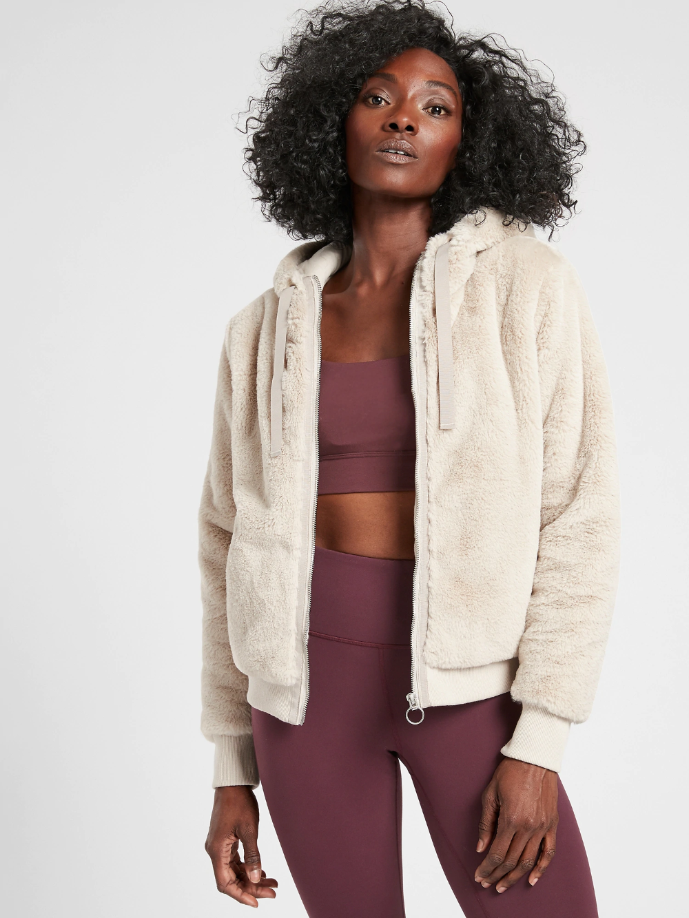 Ritual Jacket Athleta, Sherpa jacket, Fashion