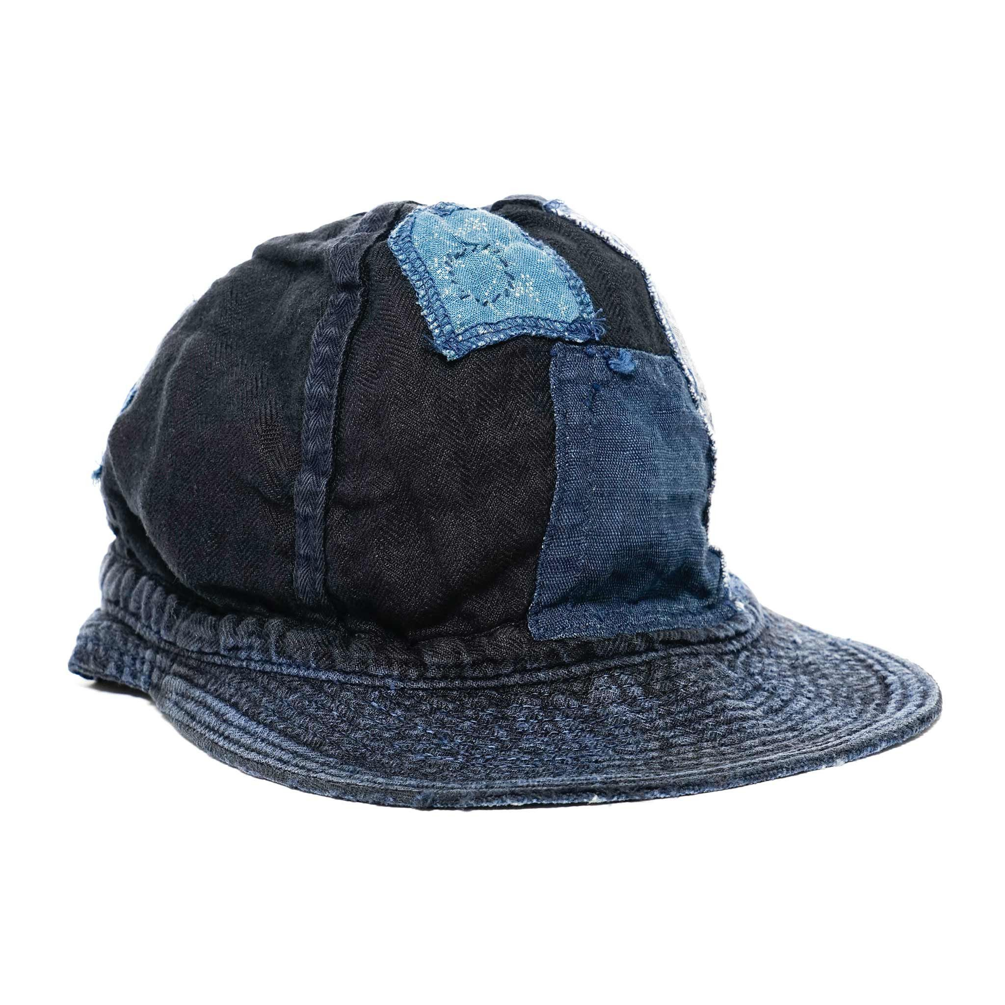 40b1c16981d Vintage Levi s Blue Denim Cap   Leather by TheOldWell on Etsy ...