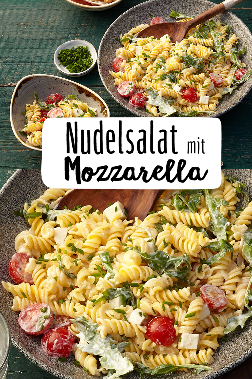 Photo of Pasta salad with mozzarella – my blog