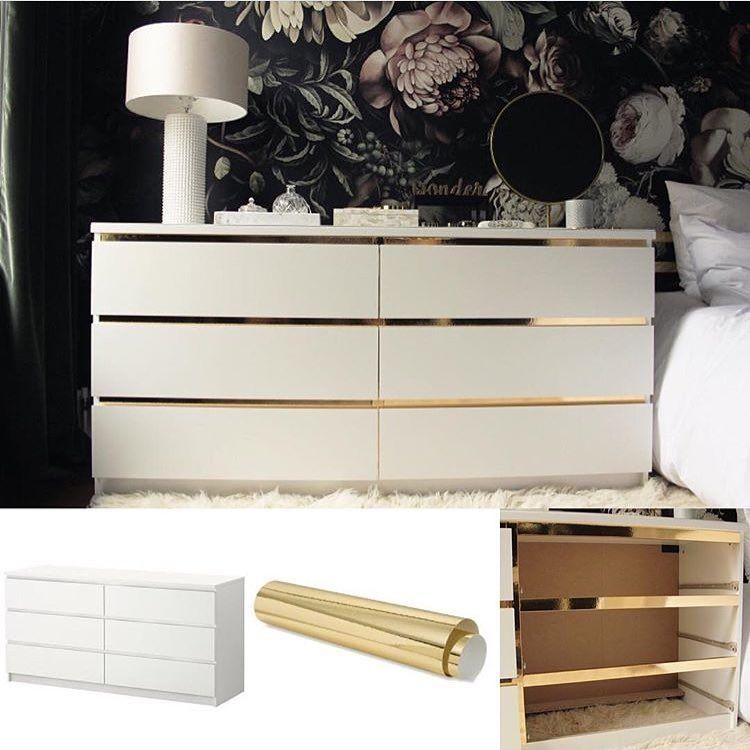die besten ikea hacks wie du deine g nstigen m bel aufwertest diy pinterest m bel. Black Bedroom Furniture Sets. Home Design Ideas