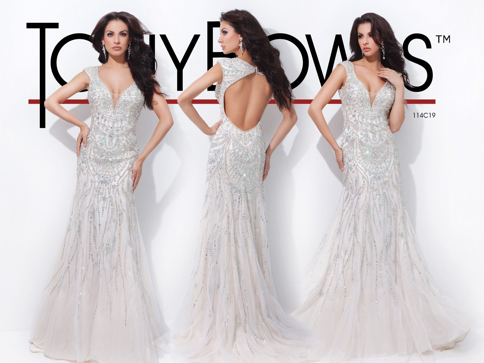Tony Bowls Red Carpet Dresses