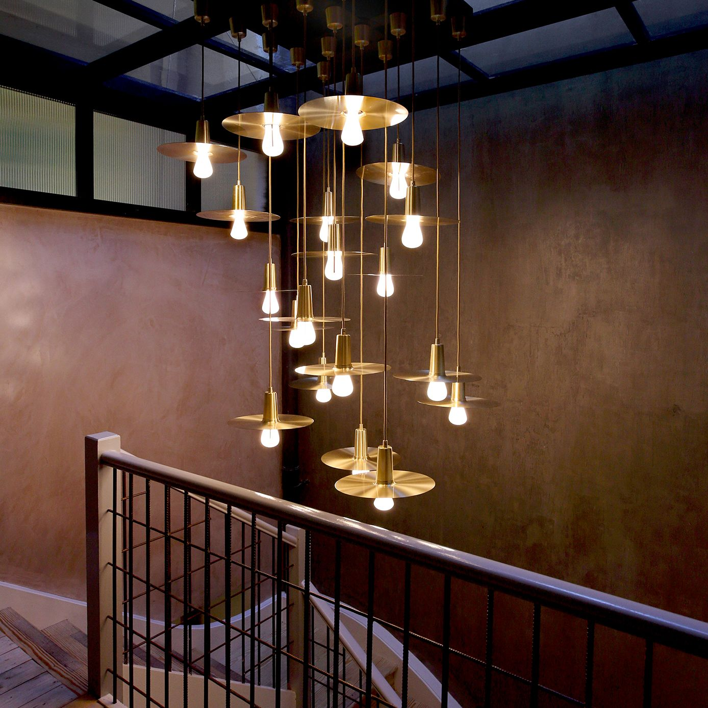 Interior Design Lighting Ideas Jaw Dropping Stunning: Our Good Friends Timberyard Created This Gorgeous Brass