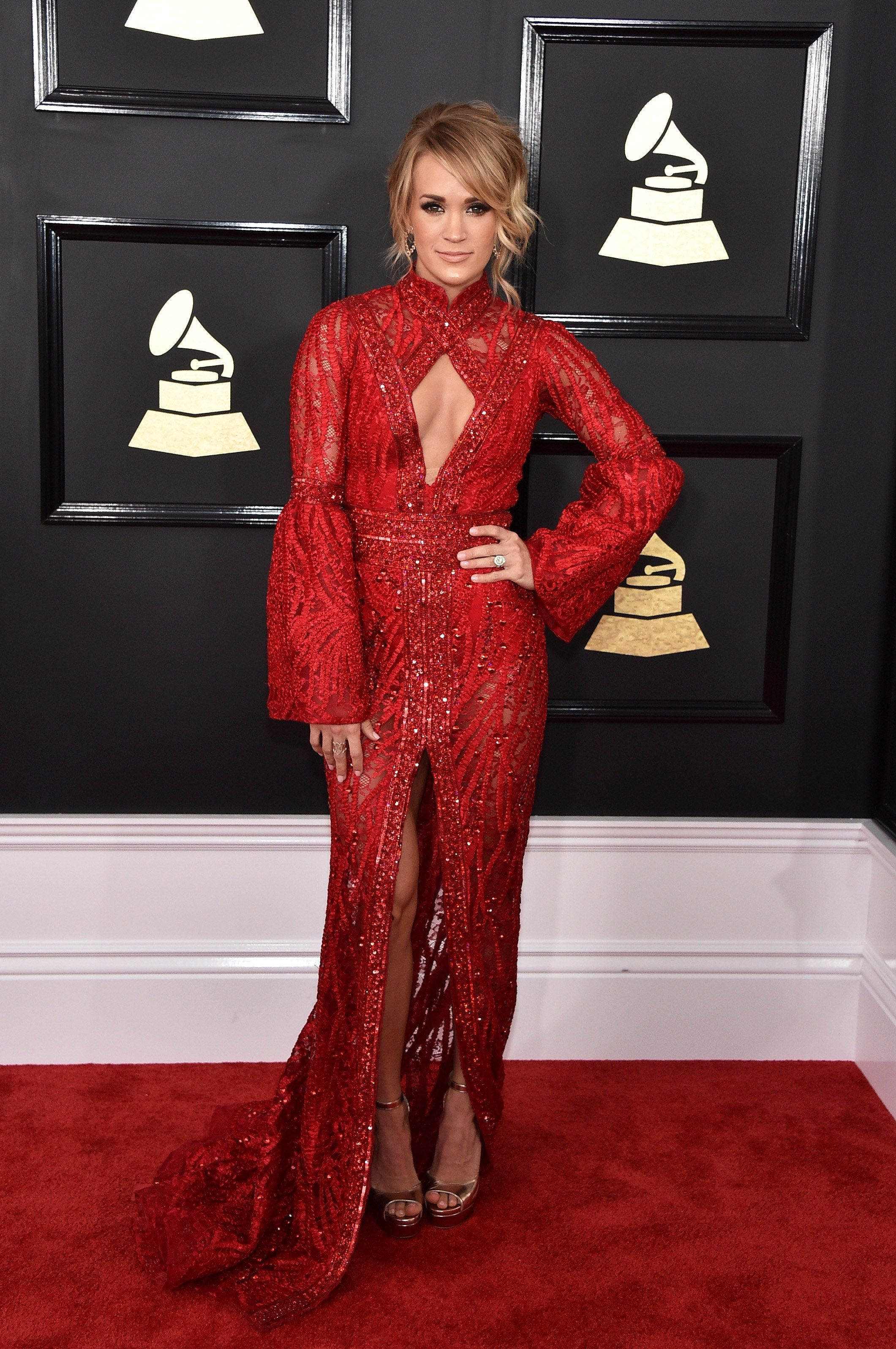 Grammys 2017 Fashion Live From The Red Carpet Red Carpet Dresses 2017 Red Carpet Fashion Grammy Awards Red Carpet