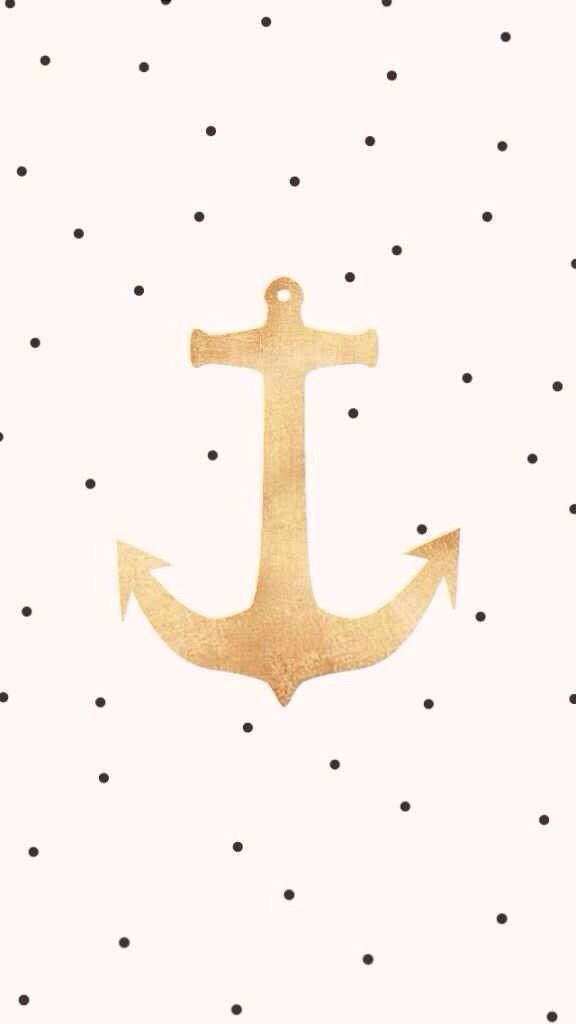 Chic Anchor IPhone Wallpaper