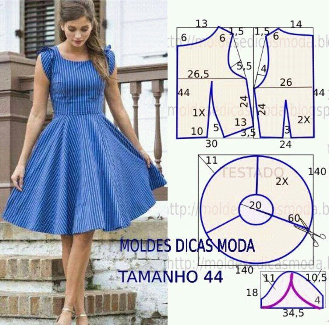Pin de daya santos en costura facil | Pinterest | Costura, Vestidos ...