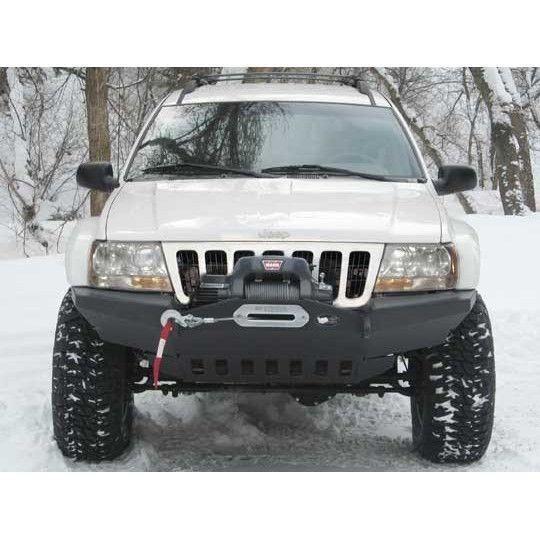 Wj Grand Cherokee Front Winch Bumper W O Light Bar Jeep Wj Jeep