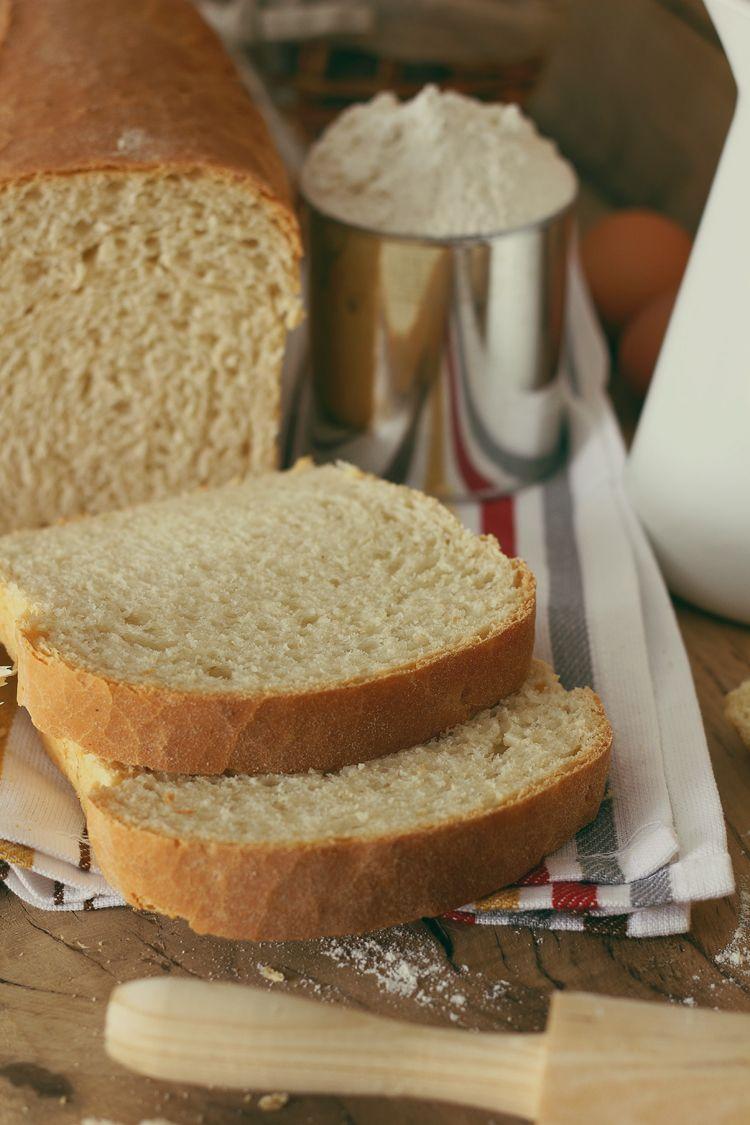 Kanela y Limón: Pan blanco en panificadora