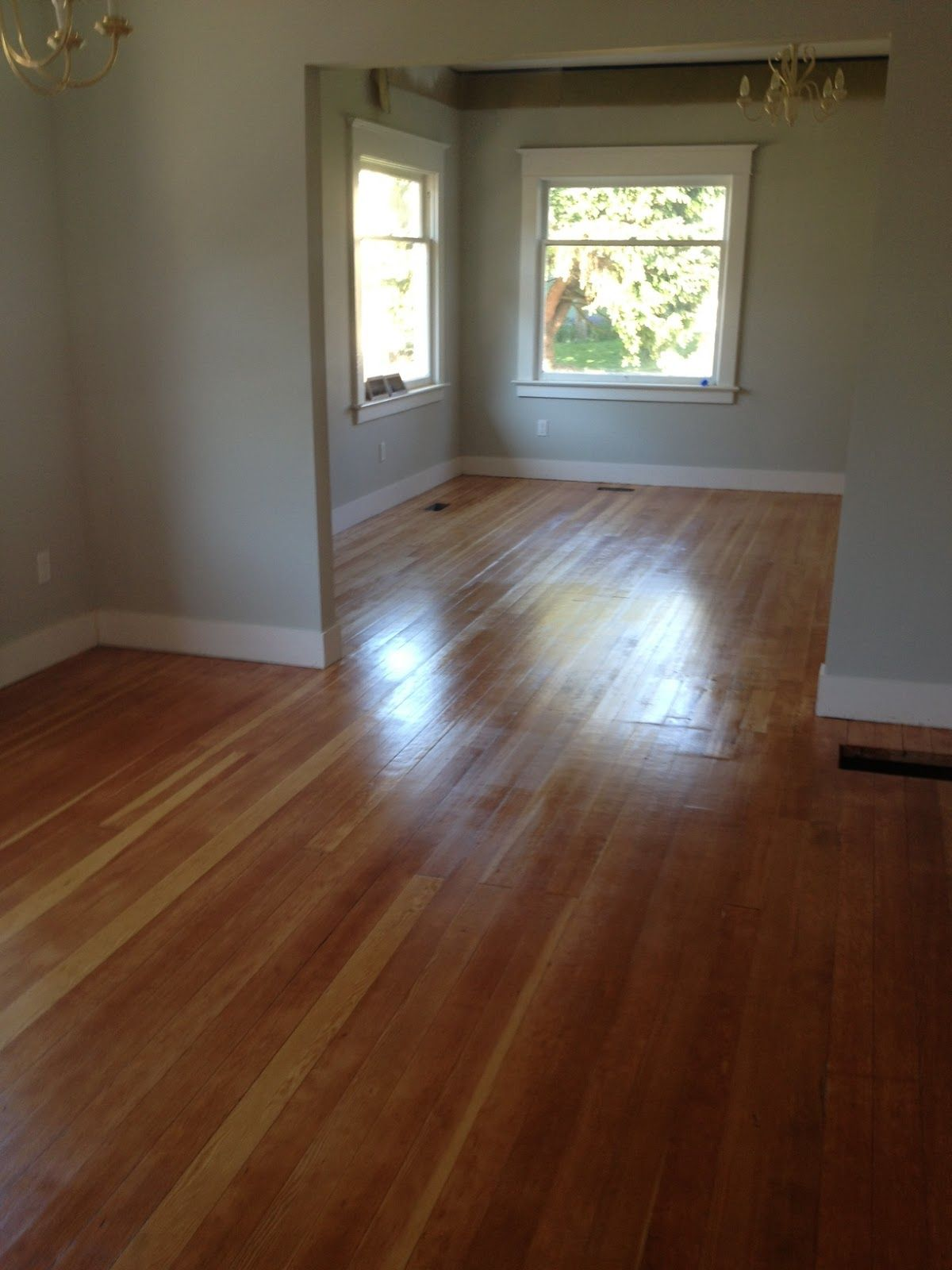 we found hardwood floors under our carpet might need this someday how to refinishing old wood. Black Bedroom Furniture Sets. Home Design Ideas