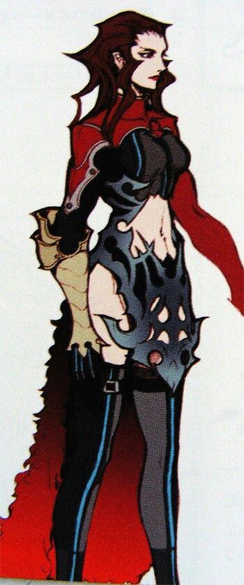 Final Fantasy 7 Dirge Of Cerberus Rosso The Crimson Concept Art