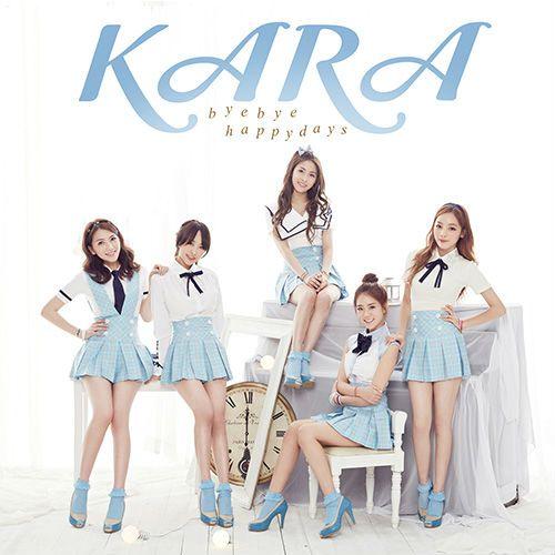 "KARA releases short PV for ""Bye Bye Happy Days"""