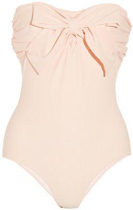 b7764ba6156aad Miu Miu Bow embellished bandeau swimsuit Miu Miu | 15 Things ...