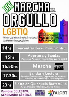 PATAGONIA PLURAL O.N.G: Marcha del Orgullo LGBTIQ | Bariloche | Patagonia ...
