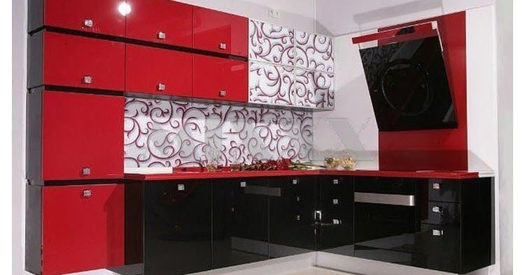 Modular Red Kitchen Design And Give You Recommendations For The