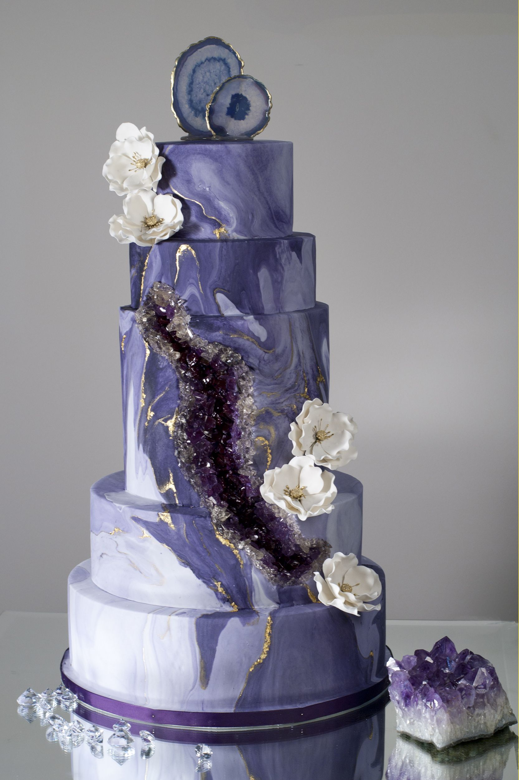 Geode Wedding Cake.Custom Wedding Cakes For The Love Of Cake Shop In Store Or