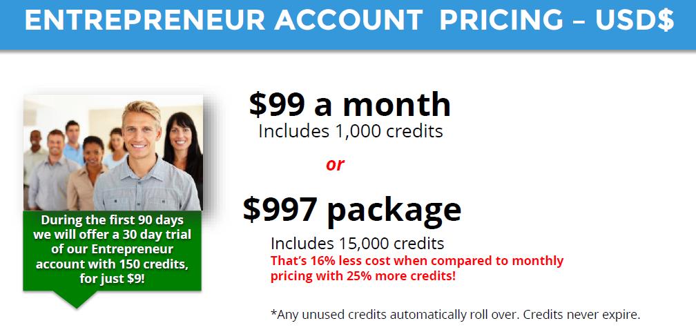 Entrepreneur account price list #neurs #makemoney #affiliates #usa #homebase #business