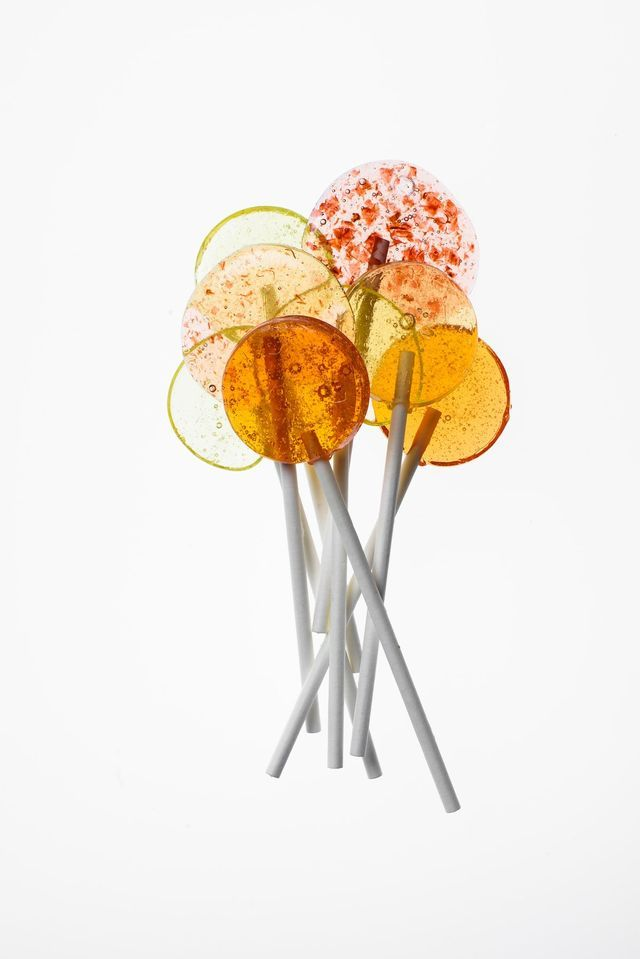 If you think candy is just for kids, then Jami Curl has two words for you: Rosé Lollipops. The owner of small batch candy brand QUIN is about to release her first cookbook and it's full of real ingred