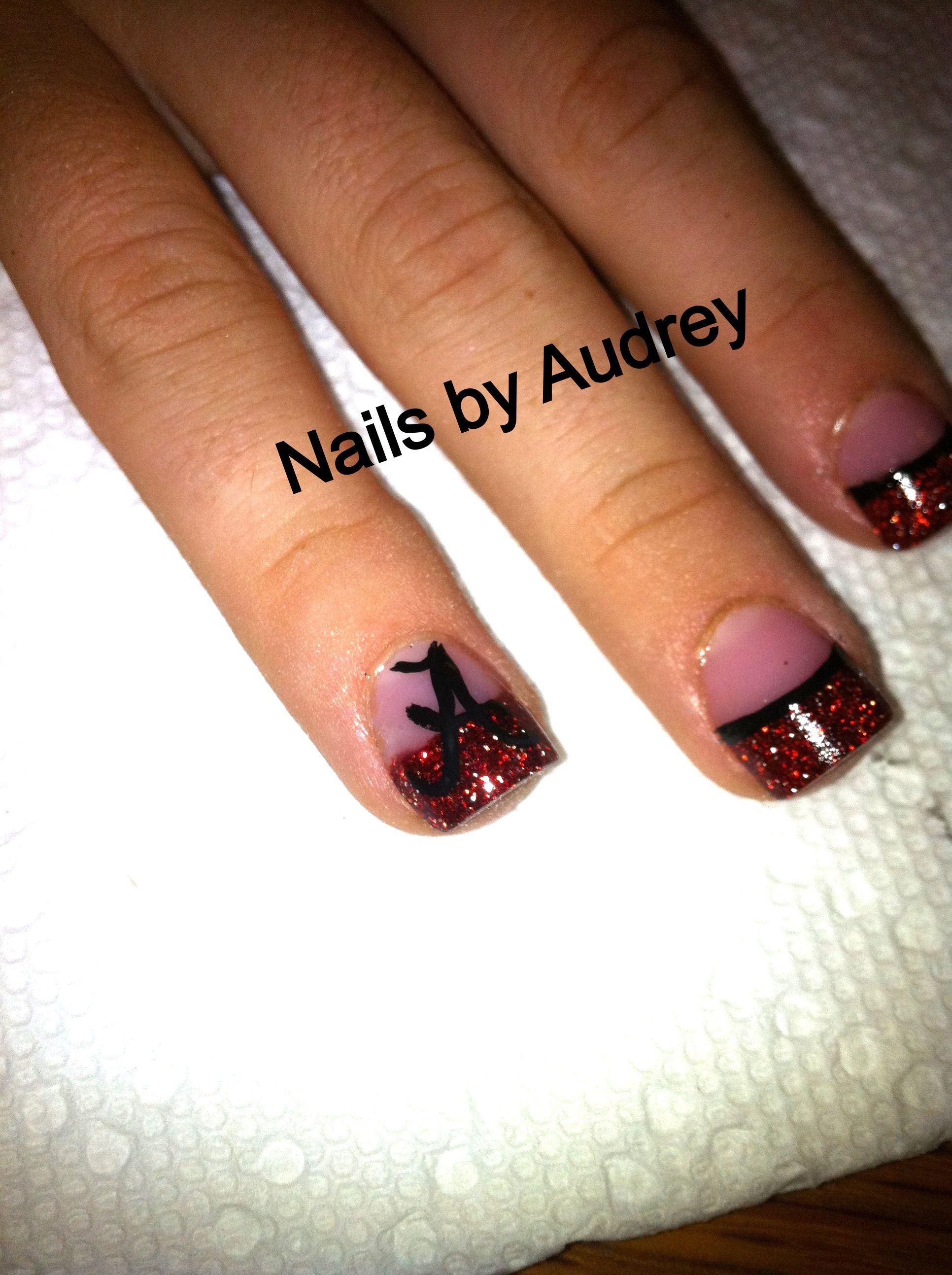 Alabama nails! | Nails By: Audrey! :) | Pinterest ...