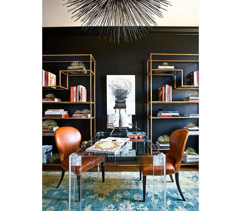Though Black, As A Neutral, Can Balance Out Brights Like Orange And Teal,