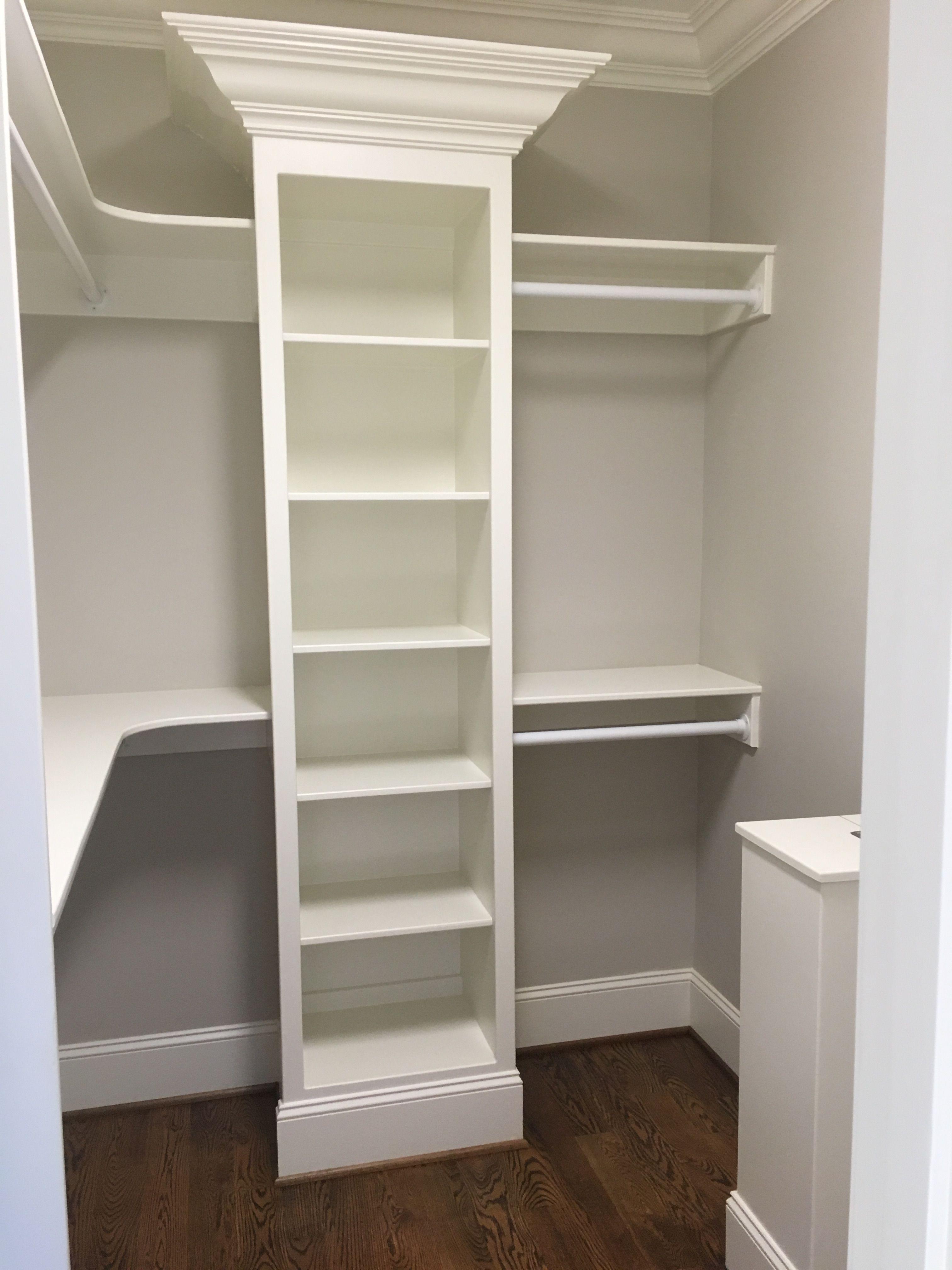 Closet Idea Closet Remodel Small Master Closet Closet Layout