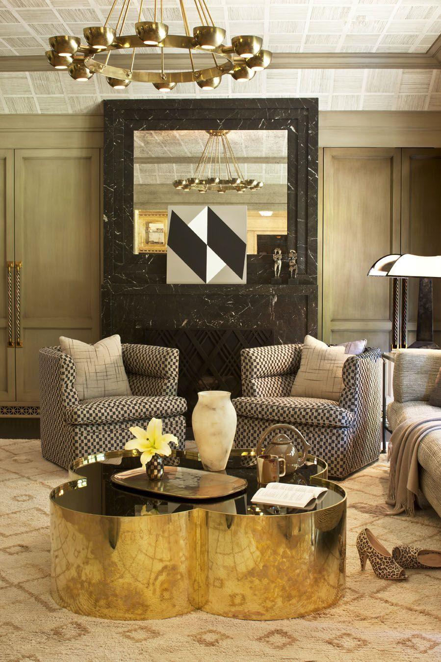 kelly wearstler interiors evergreen residence family room rh pinterest com kelly wearstler interior design office